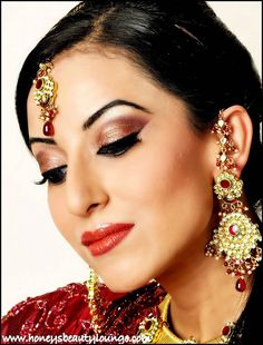 Indian makeup- again a little less dramatic