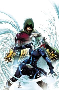 """JUSTICE_LEAGUE_OF_AMERICA_7ATRACCIÓN FATAL""""!  Batman y Xenos trabajan en el santuario secreto mientras que el rayo y el Vixen realizan alcance comunitario.  Pero no todo es diversión y juegos para el nuevo equipo de superhéroes de DC, ya que el Atom y Killer Frost se enfrentan al Terrorsmith (y su propio romance en ciernes), mientras que Lobo y Canary Negro vienen a golpes en una alcaparra del casino.  Y todo está coronado con un momento que los fans han estado esperando desde DC UNIVERSO…"""