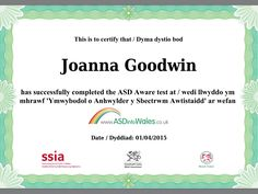 Our web and social media officer has completed the course
