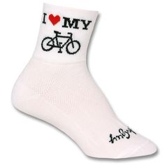 SockGuy Heart My Bike Socks