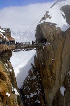 Los Alpes franceses desde el abismo
