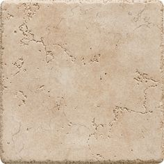 Possible tile for around bathtub/shower area. Del Conca�6-in x 6-in Rialto Beige Thru-Body Porcelain Wall Tile (Actuals 6-in x 6-in)