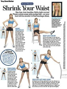 Get that thin waist you've always wanted