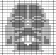 Charts for Star Wars - could cross stitch or knit