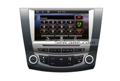 Car Stereo Radio Replacement upgrade for 2003 2004 2005 2006 2007 Honda Accord 7 GPS DVD HD Touch Screen Bluetooth TV Tuner MP3 AUX Reverse Camera iPod iPhone Steering Wheel Control GPS: Built-in worldwide GPS with voice cues, distance information, POIs, road planning all the way;You can get to any of your desired destination with it! TV Receiver: Comes with analog TV; Digital TV is also optional for watching live TV shows and broadcasts