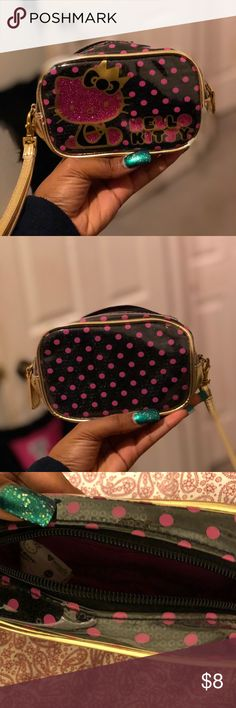 Hello Kitty Coin Purse It's basically brand new. Anyone would love it Hello Kitty Bags Clutches & Wristlets