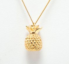 Laura Lee Pineapple Charm Necklace £195
