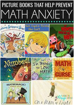 This article shows great picture books that entice the love of math and prevent math anxiety. This list is ideal for teachers of students in the elementary grades, or for homeschooling parents as well. You will see different genres and ability levels, these books about math anxiety are great for everyone!