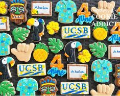 To the boys of 4-9, enjoy the moment, the friendship and the graduation luau!! #ahuihou #acookieaddict #ucsb2020 Luau, Addiction, Friendship, Graduation, In This Moment, Cookies, Boys, Instagram, Baby Boys