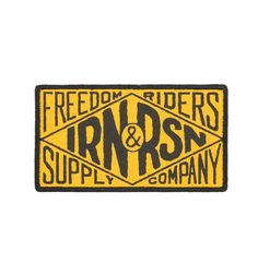 Iron & Resin Supply Co. Patch – Iron and Resin Workers Union, Biker Patches, Resin, Iron, Stickers, Handmade, Badges, Stamps, Graphic Design