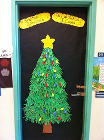 Cantinho Alternativo: Decoração de Porta Para o Natal