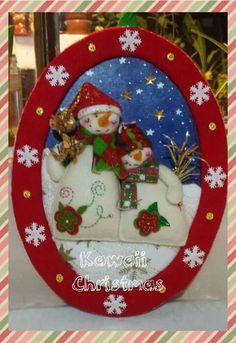 Olga Ríos's media content and analytics Christmas Crafts For Gifts, Felt Christmas, Christmas Design, Craft Gifts, Christmas Time, Christmas Cards, Christmas Decorations, Xmas, Christmas Ornaments