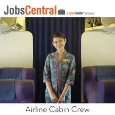 #100glamorousjobs #jobs #career   #airline #cabin #crew by #jobscentral #careerbuilder #malaysia  The role of an air cabin crew member is to provide excellent customer service to passengers while ensuring their comfort and safety throughout the flight.  Look for Your Ideal job now at www.jobscentral.com.my