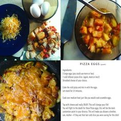 Pizza eggs! (Or what to do with leftover pizza) | 35 Clever Food Hacks That Will Change Your Life