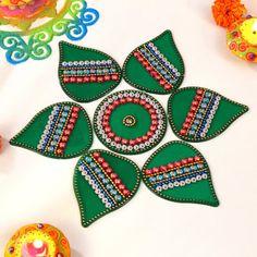 Rangoli Designs for Diwali: Buy Diwali Rangoli Online, Rangoli Stencils Diya Designs, Colorful Rangoli Designs, Rangoli Designs Diwali, Diwali Rangoli, Same Day Delivery Gifts, Diwali Gift Hampers, Acrylic Rangoli, Stencils Online, Diwali Sale
