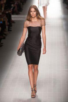 Blumarine at Milan Fashion Week Spring 2014 - StyleBistro