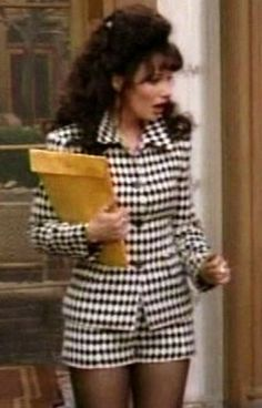 Fashion on The Nanny Nanny Outfit, 90s Outfit, Fran Fine Outfits, Legally Blonde, Moda Vintage, 90s Fashion, Style Icons, Cute Outfits, Rompers