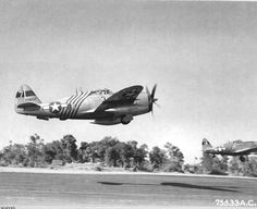 1st Air Commando Group P-47s in Burma