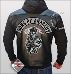 Giacca pelle sons of anarchy