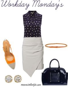 """""""Workday Monday's"""" by reesemichellestyles on Polyvore"""