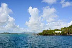 Les fonds blancs de #Martinique et ses îlets - îlet Oscar