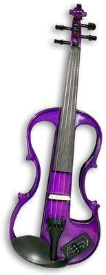 Carlo Giordano Electric Violin Outfit in Purple