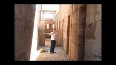 Ashley and Bronnie at Karnak, Luxor, Egypt