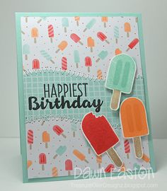 Happiest Birthday by TreasureOiler - Cards and Paper Crafts at Splitcoaststampers