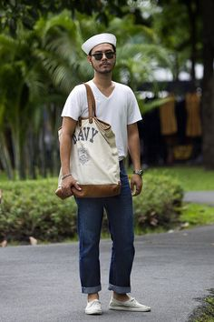 """Levis in #Bangkok,"" from the Wall Street Journal's ""SceneStyle Photo Gallery: Street Styles in Asia."" View the photo gallery here: http://blogs.wsj.com/scene/2012/11/27/scenestyle-levis-in-bangkok/tab/slideshow/#slide/1"