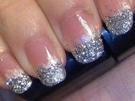 Party Nails Also For Christmas – Click video and see how it is done!