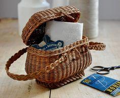 Miniature Antique Basket
