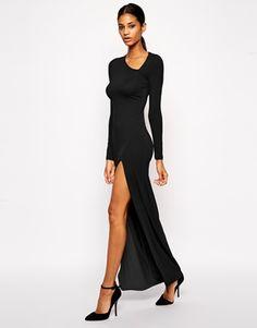 Enlarge ASOS Asymmetric Neck Sexy Maxi Dress