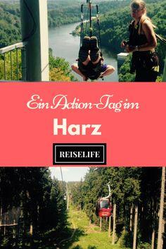 Ein perfektes Ausflugsziel in Deutschland. Von MegaZipline bis Monsterroller. Erlebe einen Action Tag im Harz und genieße fantastische Landschaften.