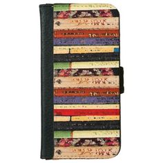 Books Abstract iPhone 6 Wallet Case