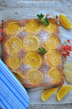 Ciasto pomarańczowo-imbirowe