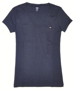 Tommy Hilfiger Slim Fit V-neck Women Logo T-shirt « ShirtAdd.com – Perfect Fit Shirts