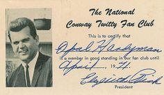 Vintage Fan Club Cards