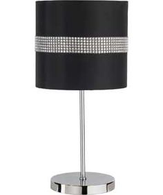 buy diamante shade black and silver at. Black Bedroom Furniture Sets. Home Design Ideas
