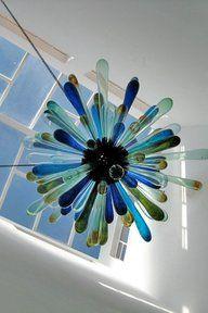 Nova ambient light chandelier Kitengela Hot Glass
