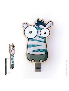 Serie golo, Garderobenhaken Funny Art, Classroom Decor, Skateboard, Embellishments, Decoupage, Pets, Drawings, Illustration, Crafts