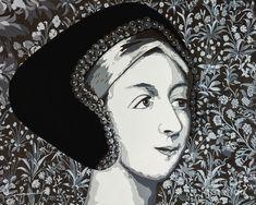 Anne Boleyn, Waves, Portrait, Artwork, Google Search, Work Of Art, Headshot Photography, Auguste Rodin Artwork, Portrait Paintings