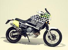 DeathSpray customs. Yamaha XTZ 750 Super Tenere
