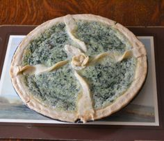 Catherine's stunning recreation of an 18th century sweet spinach tart proved to be a very enjoyable dessert. The Cookbook of Unknown Ladies. http://lostcookbook.wordpress.com/