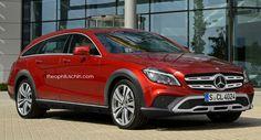 Mercedes-Benz CLS Shooting Brake Gets The All Terrain Treatment
