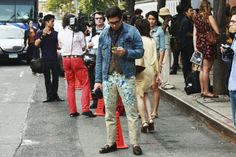 http://chicerman.com  billy-george:  Interesting  Photo by Nam  #streetstyleformen
