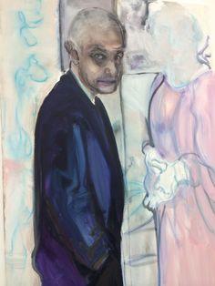 'The Artist ans his Model' (2013) Marlène Dumas at ZENO X GALLERY