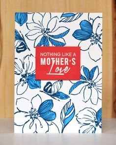 Gorgeous card perfect for Mothers Day stamped using the Wild Hibiscus Set from Altenew. Mom Cards, Mothers Day Cards, Altenew Cards, Stampin Up Cards, Hibiscus Bouquet, Mother's Day Theme, Appreciation Cards, Scrapbook Cards, Scrapbooking