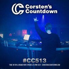 Corsten's Countdown  #513  http://www.musiceternal.com/News/2017/Corstens-Countdown-Episode-513  #Musiceternal #TranceMusic #FerryCorsten #CorstensCountdown #Trance