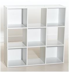 ClosetMaid 421 9-Cube Organizer, White ClosetMaid