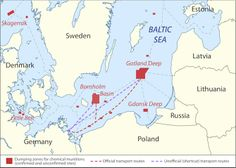 baltic trends hazardous substances dumped chemical munitions